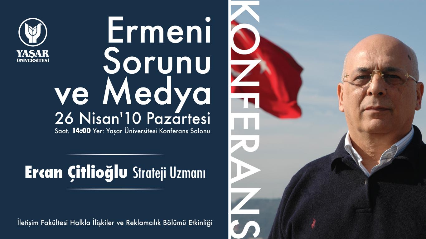 Ermeni Sorunu ve Medya Söyleşisi